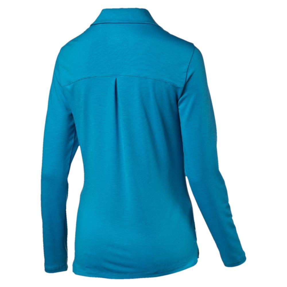 Puma Long Sleeve Golf Polo Shirt