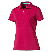 Polo Golf Space Dye PWRCOOL pour femme