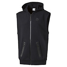 Evolution Running Sleeveless Full Zip Hoodie