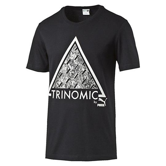 Футболка Trinomic TeeФутболки и майки<br>Футболка Trinomic Tee<br>Хлопковая футболка отличается стильным дизайном за счет крупного принта на груди. Благодаря свободному крою футболка не стеснит движения и позволит всегда быть активным.<br><br>Коллекция: Весна-лето 2016.<br>Стильный принт.<br>Классический крой.<br>Материал - 100% хлопок<br><br><br>color: черный<br>size RU: 50-52<br>gender: Male
