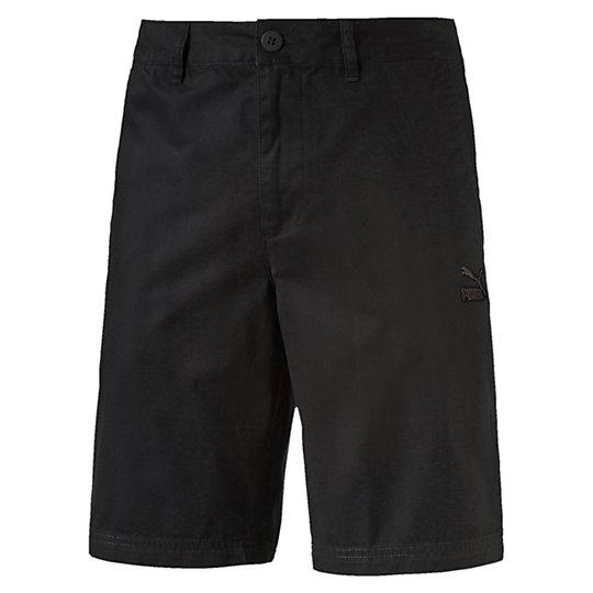 Шорты Archive Chino ShortsШорты<br>Шорты Archive Chino Shorts<br>Шорты Archive Chino Shorts о Puma — мужские шорты классического кроя в лаконичном и стильном черном цвете. Эти шорты станут прекрасным вариантом одежды как для повседневного использования, так и для отдыха. Ходите в них дома или отправляйтесь в них на пляж — в любой ситуации вы будете ощущать максимальный комфорт за счет стопроцентной хлопковой ткани. Удобные передние карманы и один задний позволят освободить руки от таких мелочей, как ключи или телефон.<br><br>Коллекция: Весна-лето 2016 года.<br>Передние карманы;<br>Задний карман;<br>Классический крой.<br>Материал - 100% хлопок<br><br><br>color: черный<br>size RU: 50<br>gender: Male