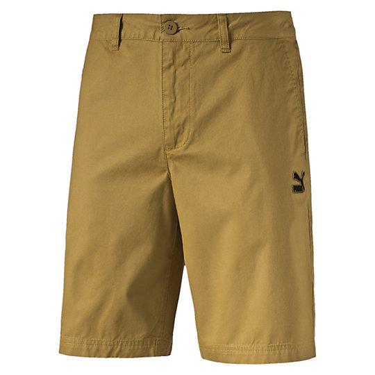 Шорты Archive Chino ShortsШорты<br>Шорты Archive Chino Shorts<br>Шорты Archive Chino Shorts о Puma — мужские шорты классического кроя в лаконичном и стильном черном цвете. Эти шорты станут прекрасным вариантом одежды как для повседневного использования, так и для отдыха. Ходите в них дома или отправляйтесь в них на пляж — в любой ситуации вы будете ощущать максимальный комфорт за счет стопроцентной хлопковой ткани. Удобные передние карманы и один задний позволят освободить руки от таких мелочей, как ключи или телефон.<br><br>Коллекция: Весна-лето 2016 года.<br>Передние карманы;<br>Задний карман;<br>Классический крой.<br>Материал - 100% хлопок<br><br><br>color: коричневый<br>size RU: 46-48<br>gender: Male