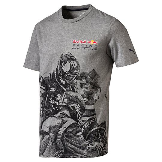 Футболка RBR Graphic Tee 2Футболки и майки<br>Футболка RBR Graphic Tee 2<br>Настоящий фанат команды Формулы-1 Red Bull Racing просто обязан иметь в гардеробе такую футболку.<br><br>Коллекция: Осень-зима 2016<br>Состав: 100% хлопок<br>Графический принт RBR<br>Круглый вырез<br>Страна-производитель: Китай<br><br><br>size RU: 44-46<br>gender: Male