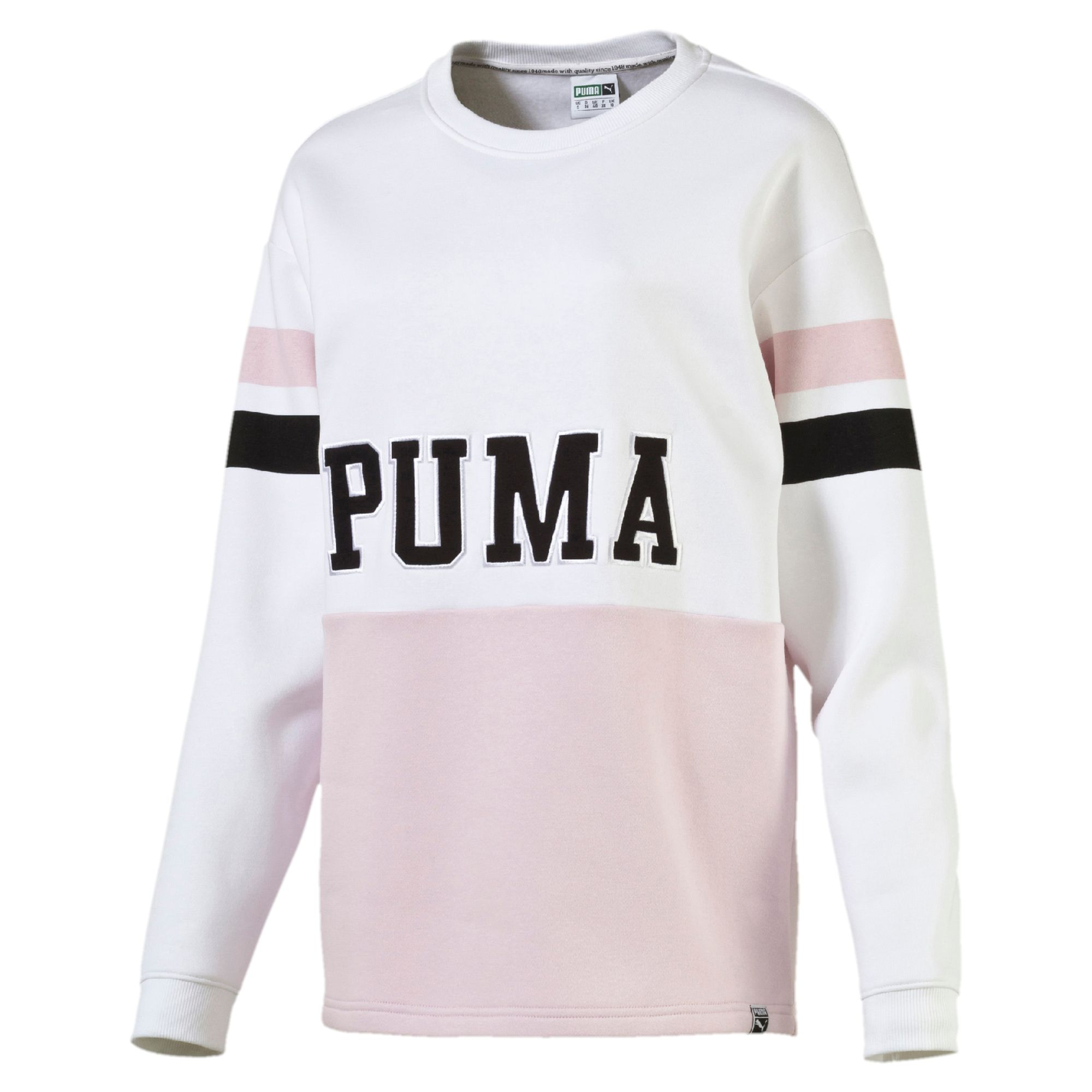 puma archive women s colour blocking sweater sport