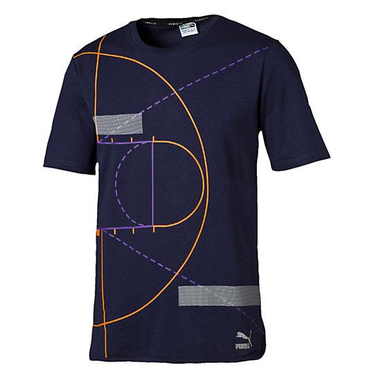T-shirt long Evolution Graphic pour homme