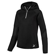 Evolution Winterized Damen Half Zip Hoodie