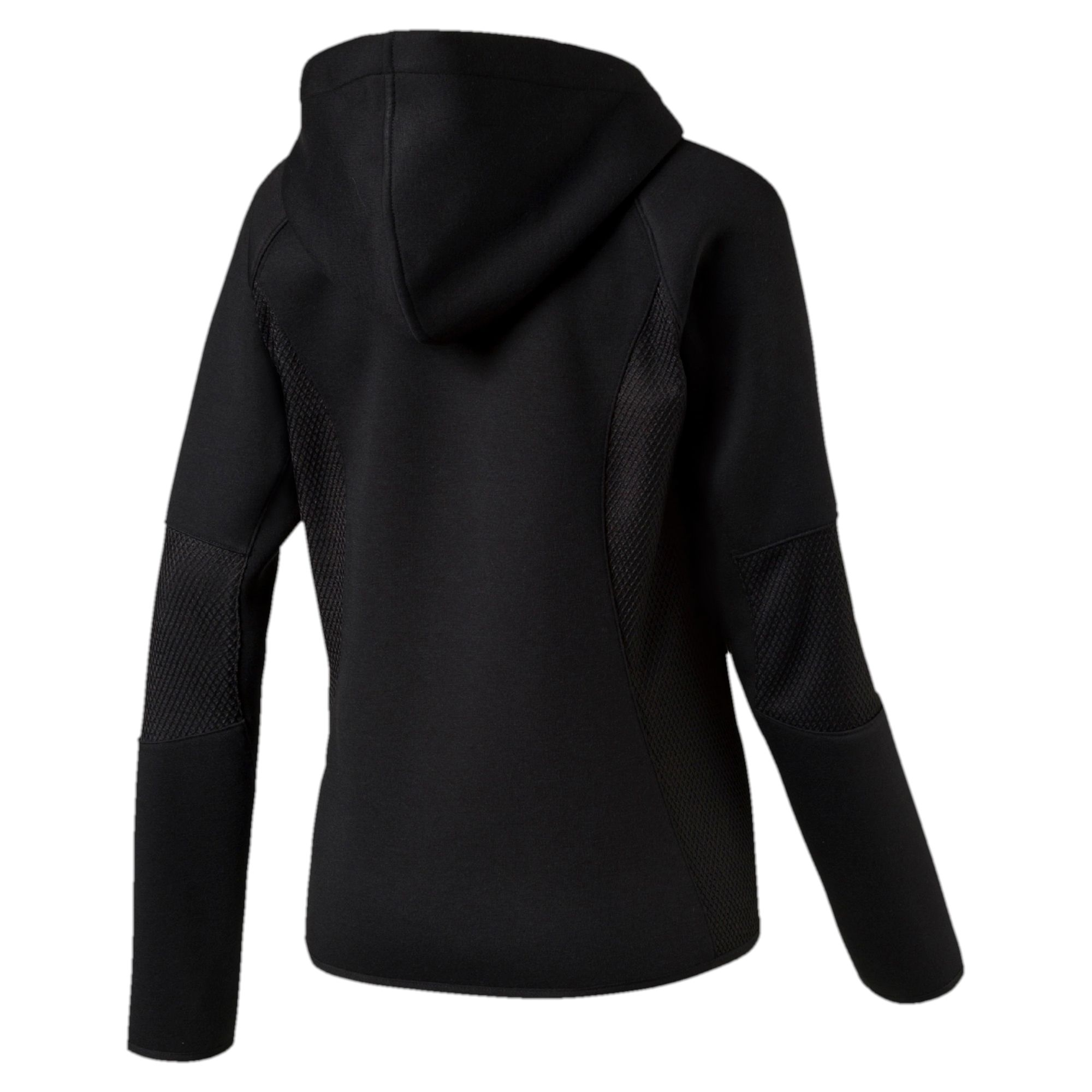 puma evolution winterized damen half zip hoodie sweat. Black Bedroom Furniture Sets. Home Design Ideas