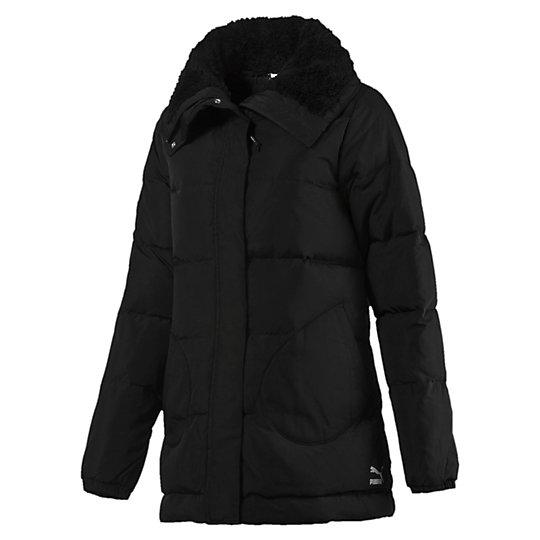 Куртка Evo A Line Down JktКуртки, жилеты<br>Куртка Evo A Line Down JktПринт с логотипом Archive No.1 цвета «серебристый металлик»; зауженный покрой с трапециевидным силуэтом; водоотталкивающая ткань с пуховым наполнителем; большой воротник на меховой подкладке; вставки на карманах; застежка-молния на всю длину с язычком и дополнительной кнопкой.Коллекция: Осень-зима 2016Состав: 100% полиэстер; водонепроницаемое покрытиеЦвет: черныйСтрана-производитель: Вьетнам<br><br>size RU: 40-42<br>gender: Female