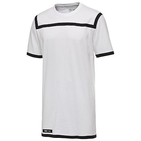 プーマ PUMA X UEG TSHIRT メンズ Puma White【メンズウエア  Tシャツ】PUMA プーマ【サイズ XS,S,M,L/ホワイト】メンズ~~アパレル~~Tシャツ