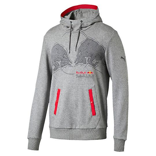 Толстовка RBR Graphic HoodieТолстовки и худи<br>Толстовка RBR Graphic HoodieПривнесите в свой гардероб динамику гонок с Red Bull Racing благодаря этой толстовке от PUMA.Коллекция: Осень-зима 2016Состав: 70% хлопок, 30% полиэстерКапюшон с подкладкой и затягивающимся шнурком для защиты от ветраЭластичная отделка на поясе и манжетахКарман-кенгуруКонтрастная тесьма на капюшоне и спередиСтрана-производитель: Китай<br><br>size RU: 46-48<br>gender: Male