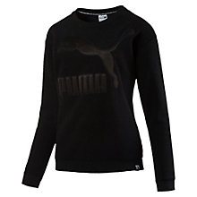 Sweatshirt in pile Winterized donna