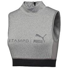 PUMA X STAMPD CROP TOP