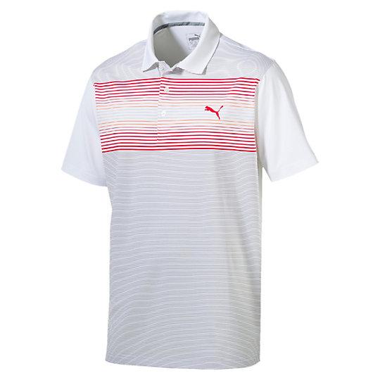 Polo Golf Highlight Stripe uomo