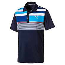 Golf Men's Road Map Asym Polo