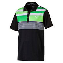 Golf Herren Road Map Asym Polo