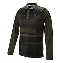 ゴルフ アイスストライプ LS ポロシャツ