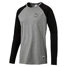 T-Shirt Archive Logo Raglan à manches longues pour homme