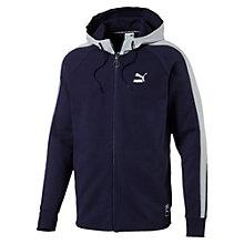 Archive Colour Block hoodie met rits voor mannen