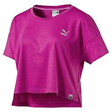 Damen Archive Logo Cropped T-Shirt