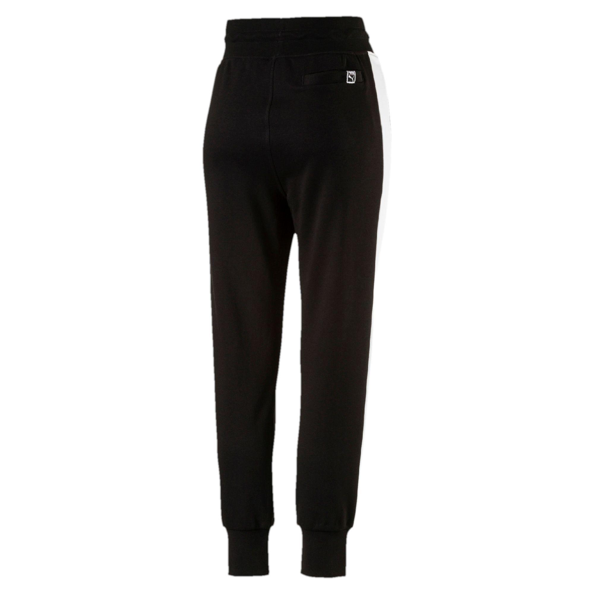 puma pantalon de surv tement archive logo t7 pour femme femmes neuf ebay. Black Bedroom Furniture Sets. Home Design Ideas