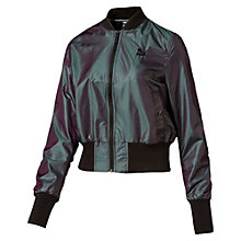 Women's Iridescent Bomber Jacket