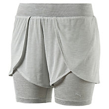 Evolution Damen 2 in 1 Shorts