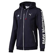 BMW Motorsport hoodie met rits voor mannen