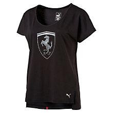 T-Shirt Ferrari Big Shield pour femme