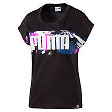 Damen Filled Logo T-Shirt
