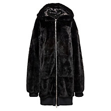 OVERZIED FZ FAUX FUR BOMBER