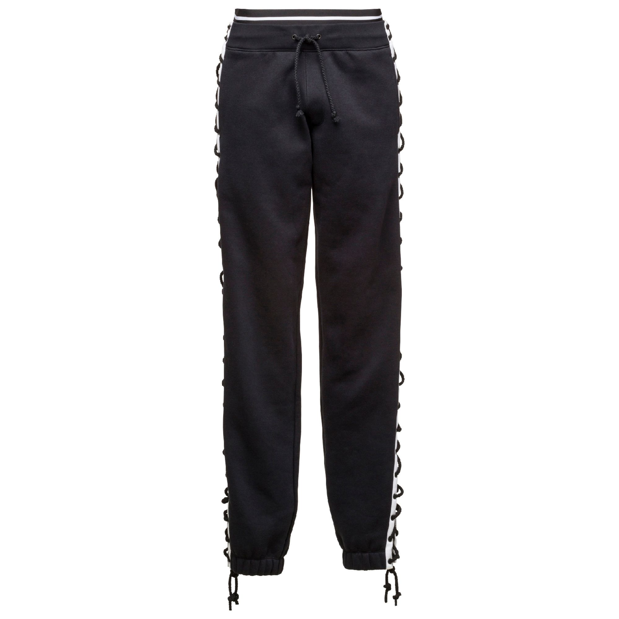 Artikel klicken und genauer betrachten! - The Lacing Sweatpants from the FENTY PUMA by Rihanna collection are daring with their skin-revealing side slits and unique rope lacing at the sides. The extra-long laces also offer versatility: Lace them tight for less exposure, or keep them loose to show some skin. Wrap them around your ankles, or tie them in a neat bow. | im Online Shop kaufen