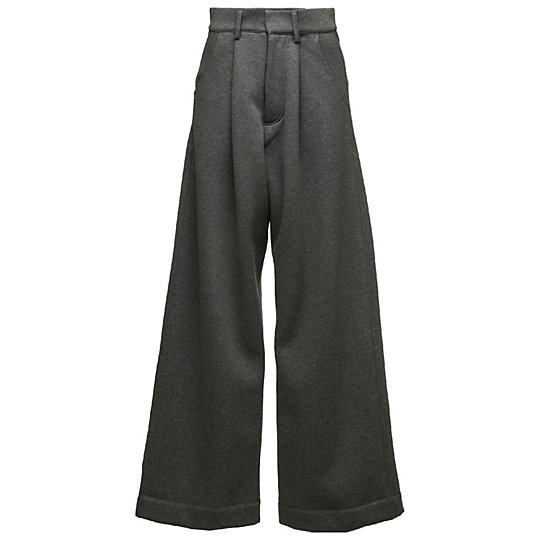 プーマ OVERSIZED FLEECE TROUSER ウィメンズ Charcoal Heather