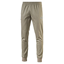 SUEDE WOVEN PANTS