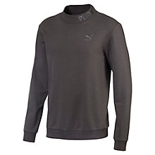 Men's Preppy High-Neck Sweater