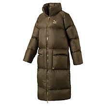 Women's Longline Goose Down Coat