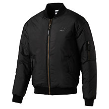Men's Padded Bomber Jacket