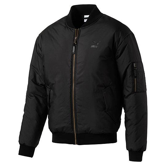 Men's Padded Bomber Jacket
