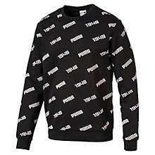 Men's Allover Crew Sweater