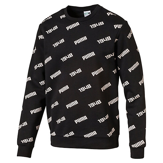 Sweatshirt girocollo Allover uomo