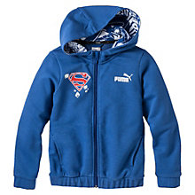 SUPERMAN HOODED SWEAT JACKET
