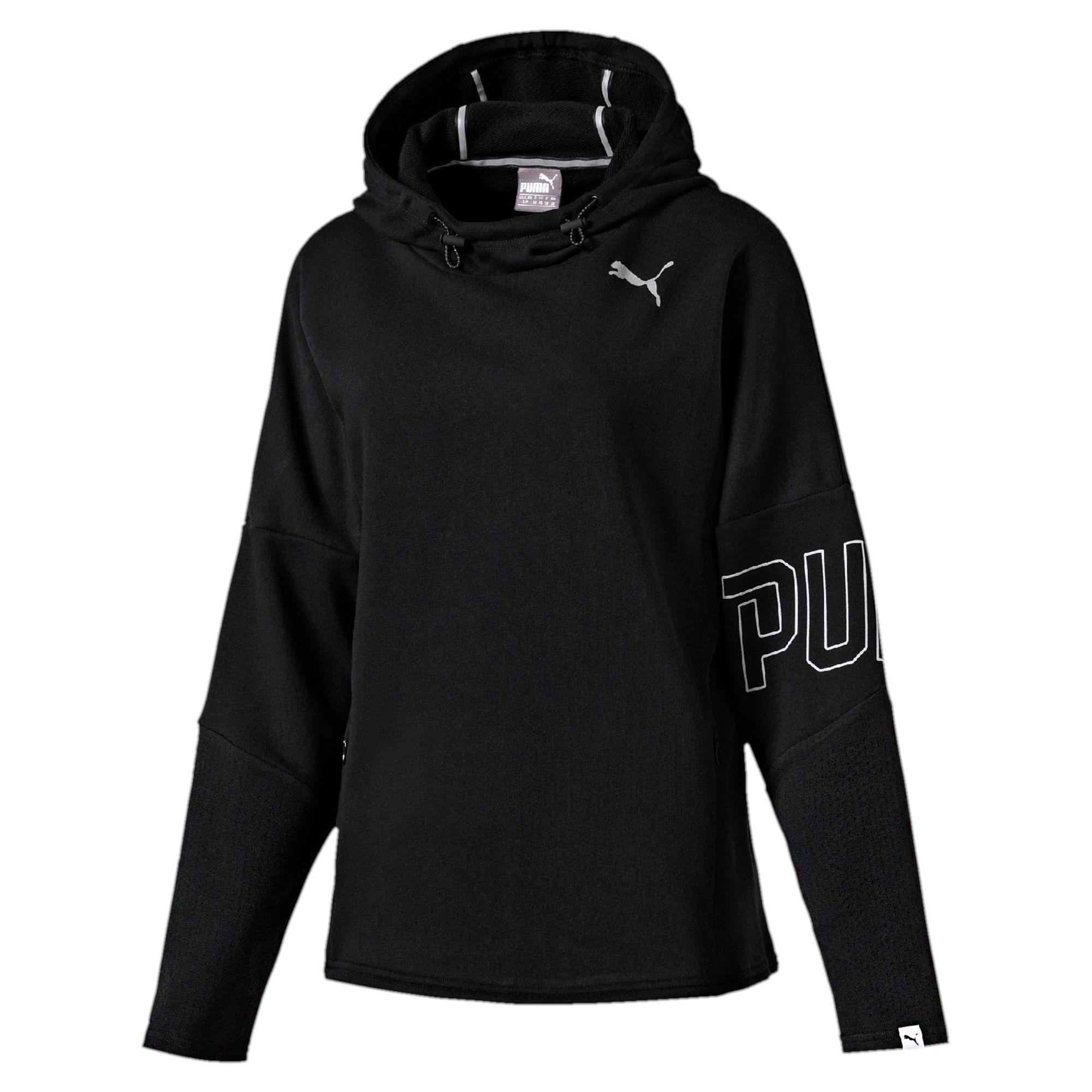 puma damen swagger hoodie frauen sweat basics neu ebay. Black Bedroom Furniture Sets. Home Design Ideas