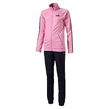 Girls' Tape Tricot Track Suit