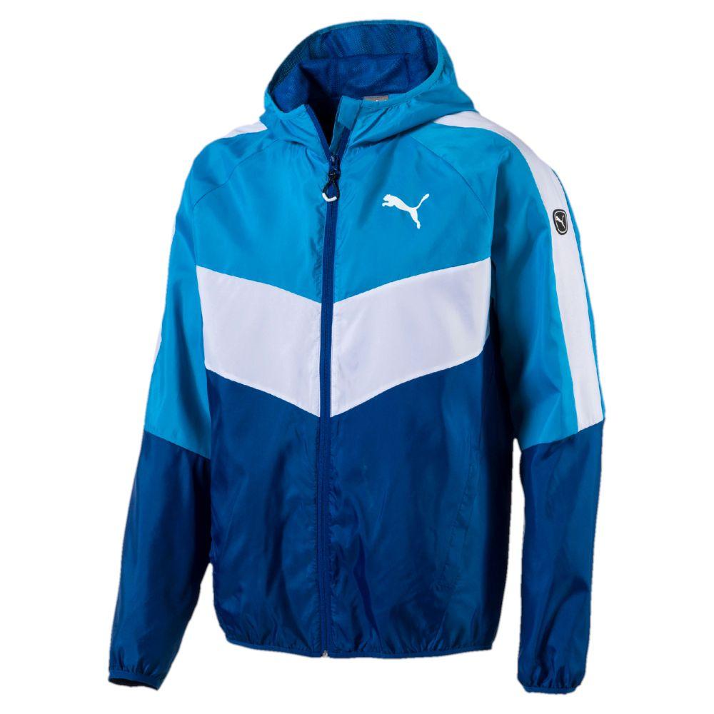 PUMA EES Colorblock Windbreaker Jacket | eBay