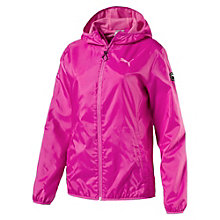 Women's Solid Windbreaker