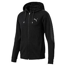 Active Evostripe dryVENT hoodie met rits voor mannen