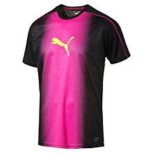 evoTRG Männer Cat Graphic Fußball T-Shirt