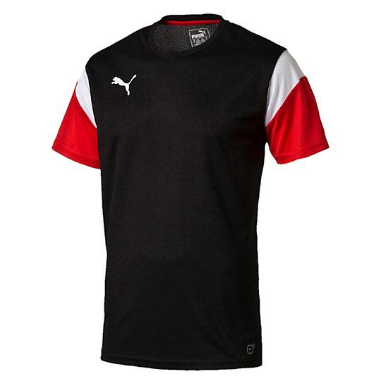 Футболка ftblTRG ShirtФутболки и майки<br>Футболка ftblTRG Football Training T-Shirt<br>Эта тренировочная футболка идеально подходит для отработки навыков на футбольном поле и проверки своей выносливости. Высокотехнологичные материалы выводят влагу наружу, сохраняя сухость и комфорт во время тренировки.<br><br>Коллекция: Осень-зима 2016<br>Состав: 100% полиэстер; влагоотводящая обработка на основе биотехнологий<br>Технологии: dryCELL<br>Вид спорта: ФутболЦвета: красный, черный, белый, голубой<br>Сетчатая вставка на спине улучшает циркуляцию воздуха<br>Футболка с контрастной окантовкой подчеркивает достоинства фигуры<br>Страна-производитель: Турция<br><br><br>size RU: 46-48<br>gender: Male