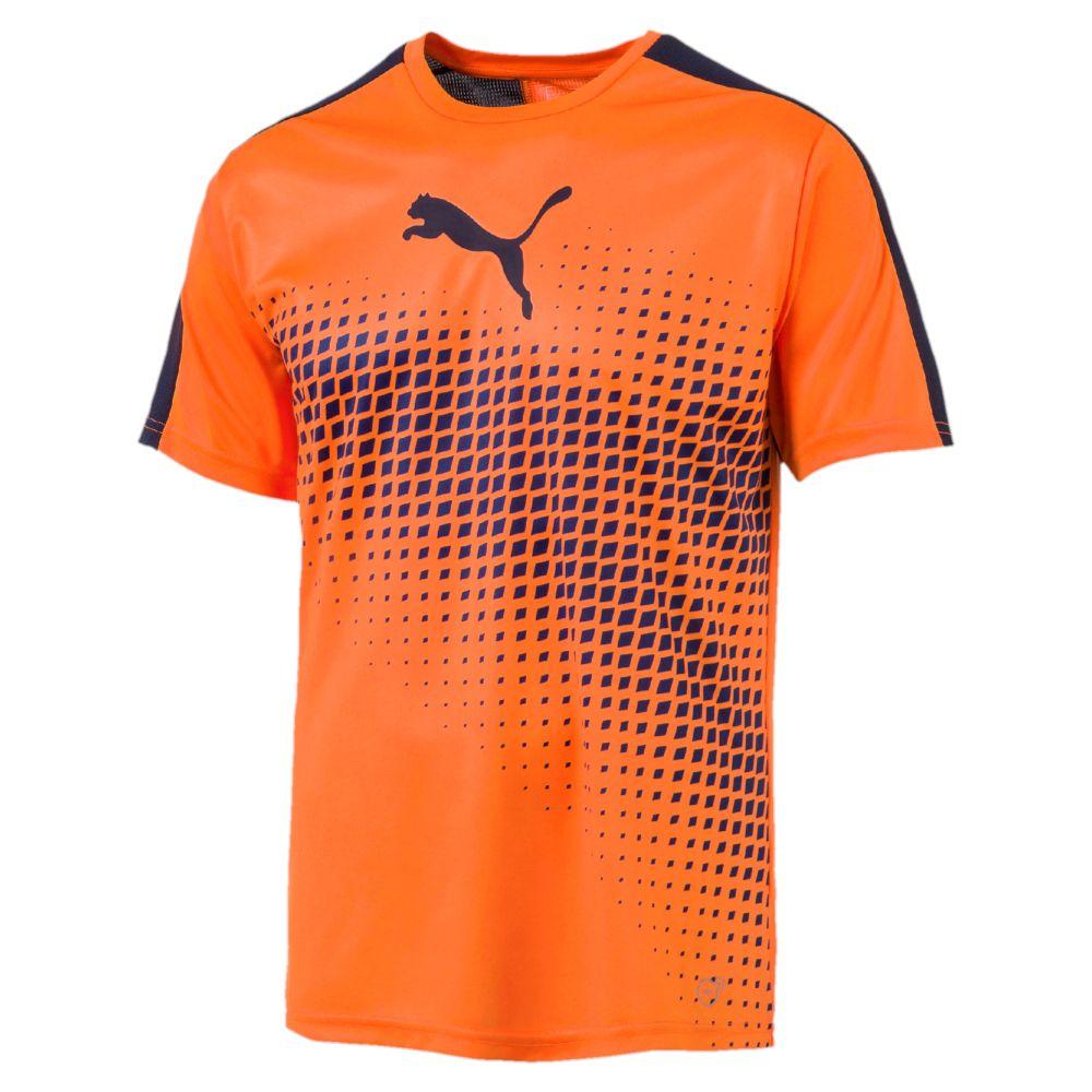Puma Men's evoTRG ACTV Thermo-R Football Soccer Training T ... |Cool Puma Soccer Shirts