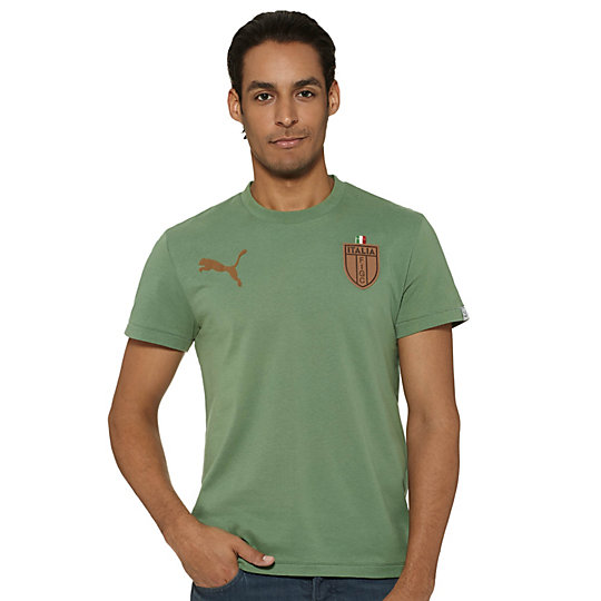 FIGC Italia T7 Badge T-Shirt