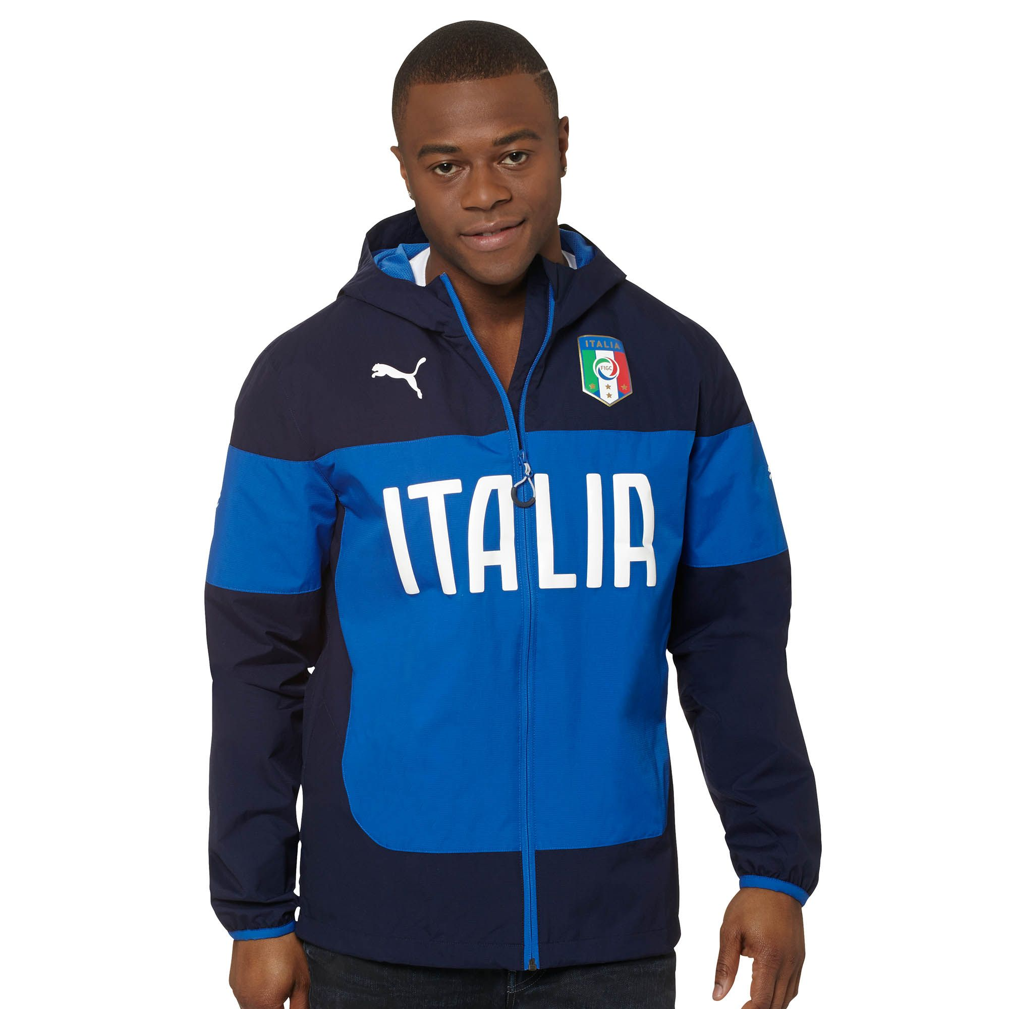 PUMA Italia Rain Jacket Apparel Jackets Football Men New ...